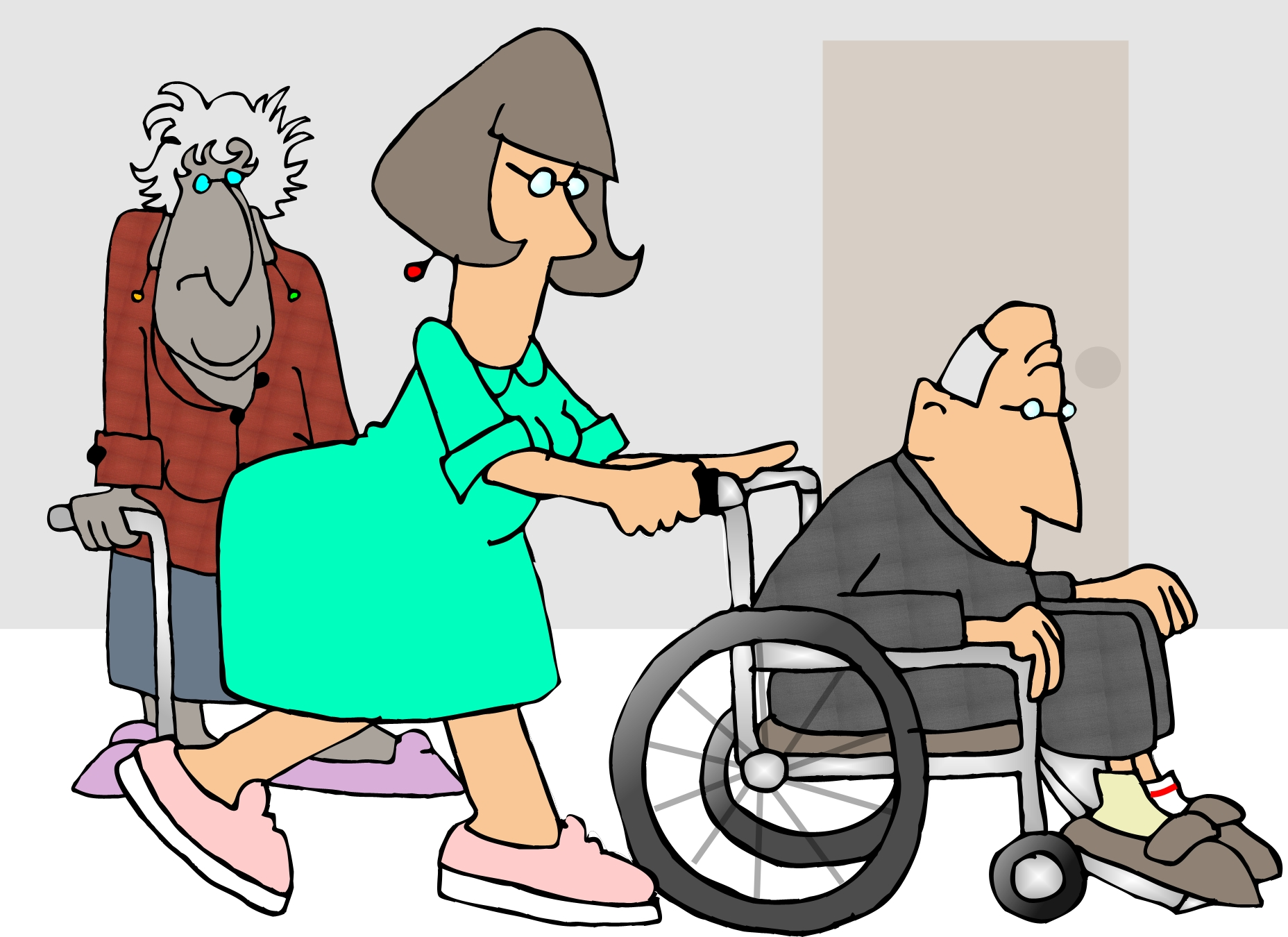 Nursing home biopsy report page 2 for Wallpaper home cartoon